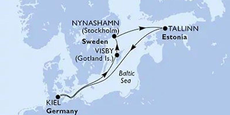 Deutschland,  Schweden,  Estland